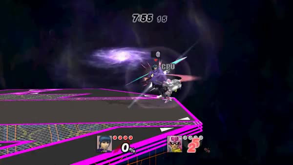 Captain Falcon sure can be persistent (x-post from /r/smashbros)