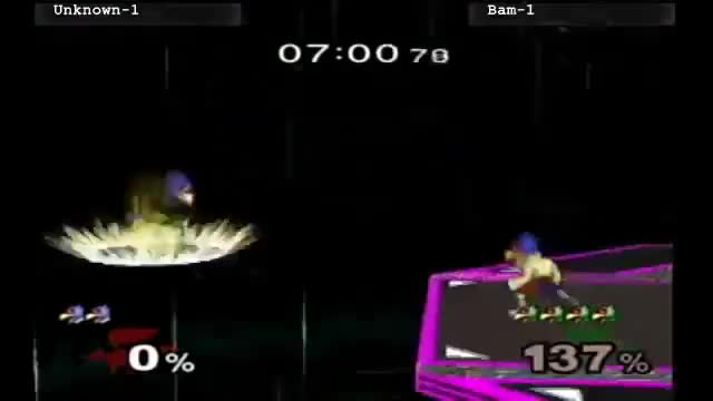 [Melee] Bam does the most insane Falco combo you've ever seen