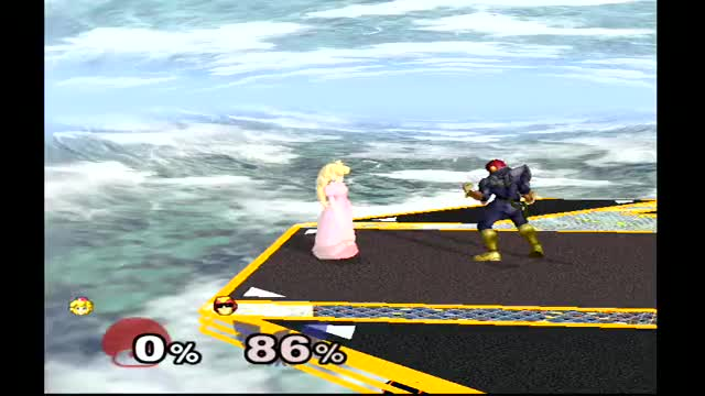 Peach Turnip Catch Swag (X-post from /r/smashbros)