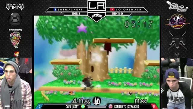 Kort's Link with relentless pressure to YOLO edge-guard combo