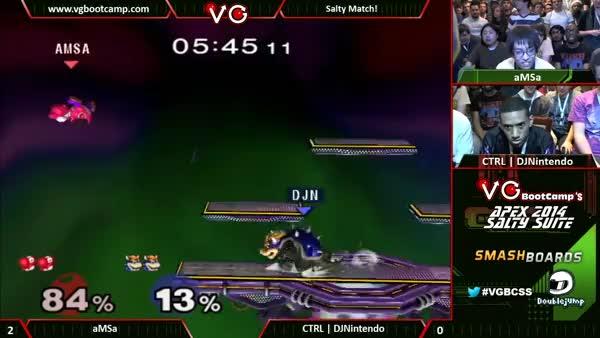 aMSa's amazing unexpected KO on DJNintendo