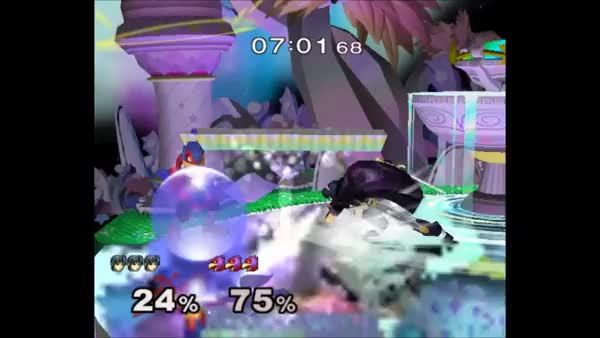 This edgeguard should not have happened, but I loved it.