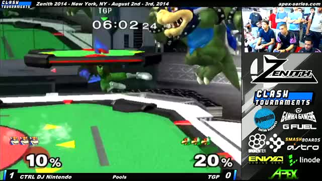DJNintendo's Bowser is mean to this Falco