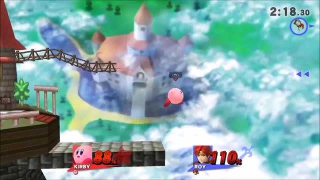 So I was playing Smash with a friend…