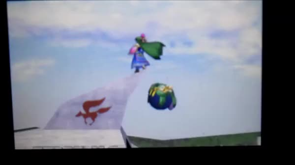Weird glitch me and friend found where Kirby throws Palutena into the great fox
