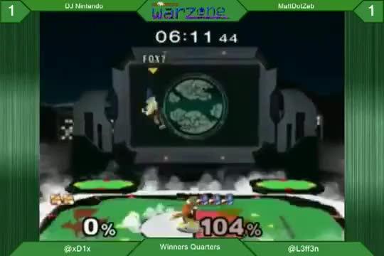 MattDotZeb's got the weirdest Falco combos
