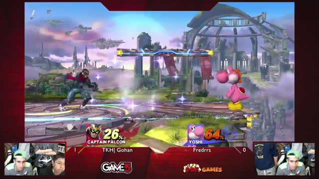 TKH | Gohan Tries to Knock Android 18 Out of Pink Yoshi
