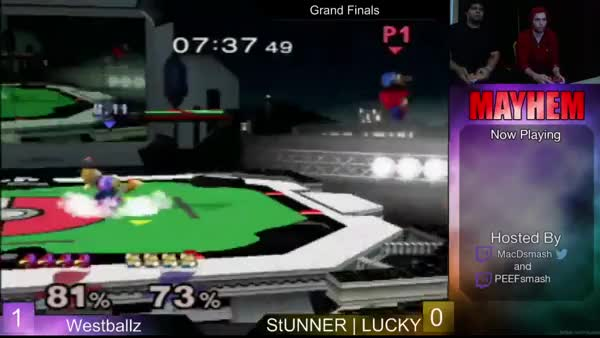 I disagree with Tafo; I thought this Westballz combo was gfycat-worthy.