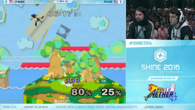 Mango's insanely creative combo on Plup's Fox