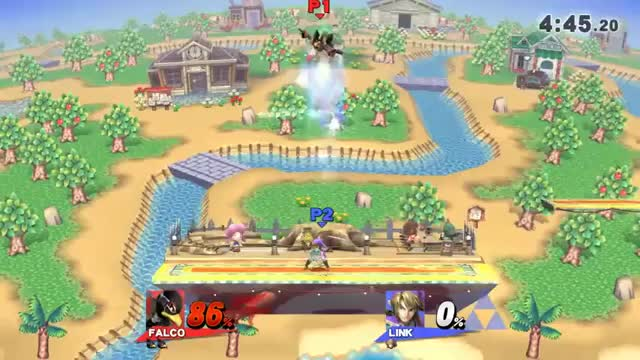 Using Link Against Himself (Falco 0-Death)