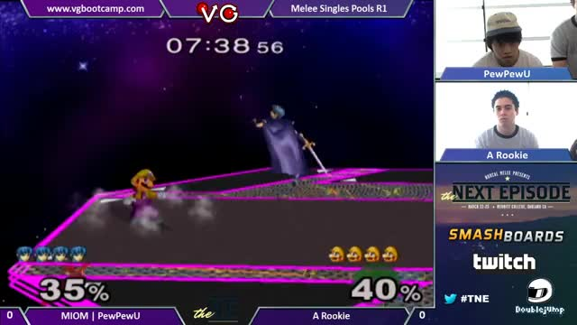 [Melee]PPU with some wonderful pressure