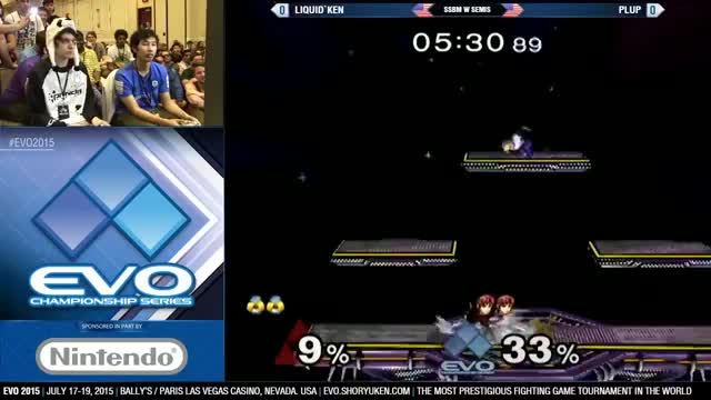 Plup with a super clean punish on Ken