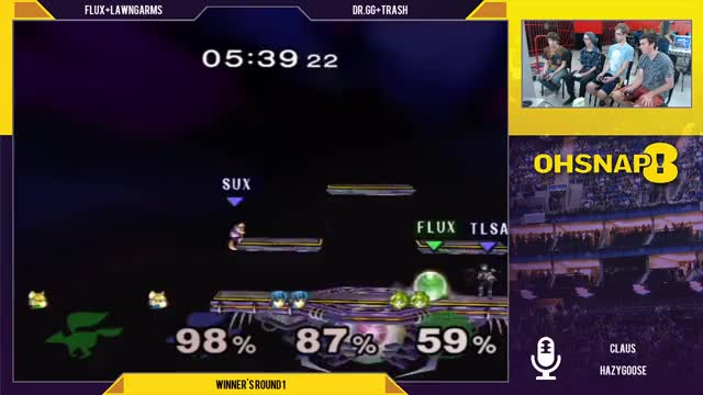 Nice team save by Marth into taking back center stage