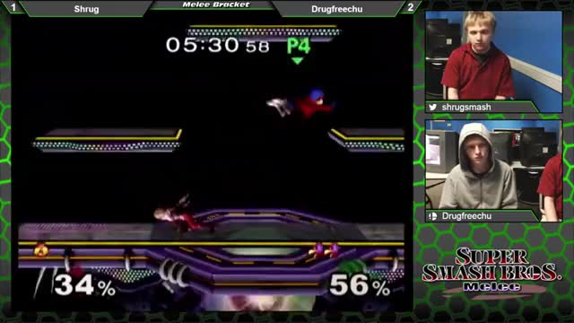 Falco takes flight with a little help