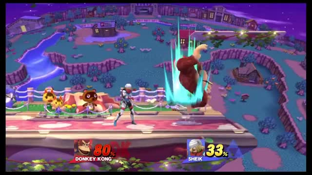How to beat custom DK with Sheik