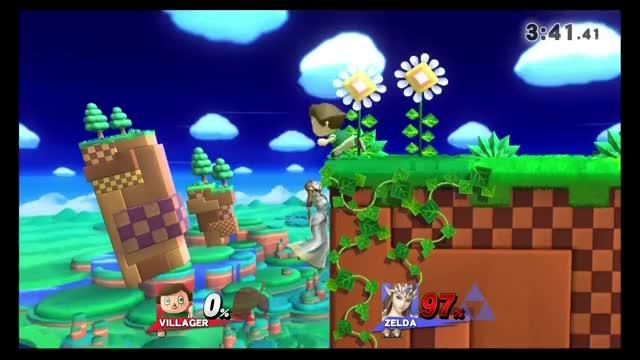 Villager v. Zelda – One hit zero to death