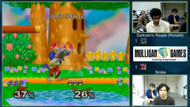 Amazing Falco combo by Ronzell against $mike in NC, Greensboro local