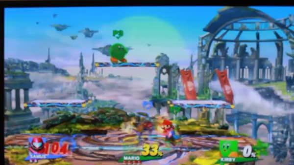 Samus 0-deaths Kirby (please explain?)