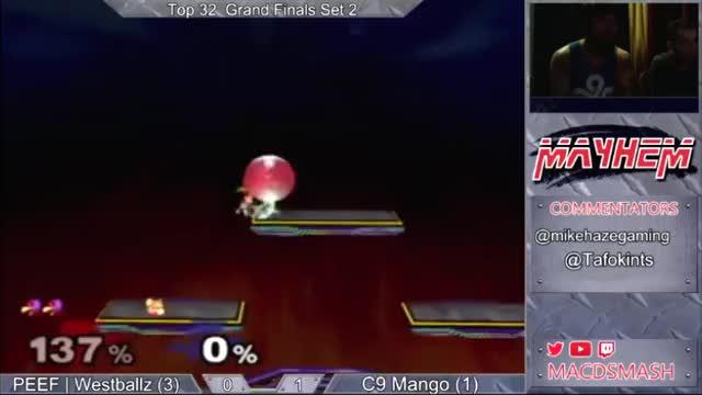 Westballz zero to death on Mango