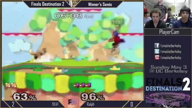 Ralph showing SFAT a thing or two about Yoshi's