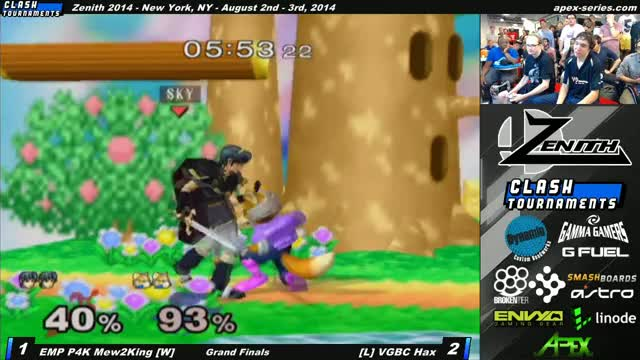 Mew2king loses his glasses