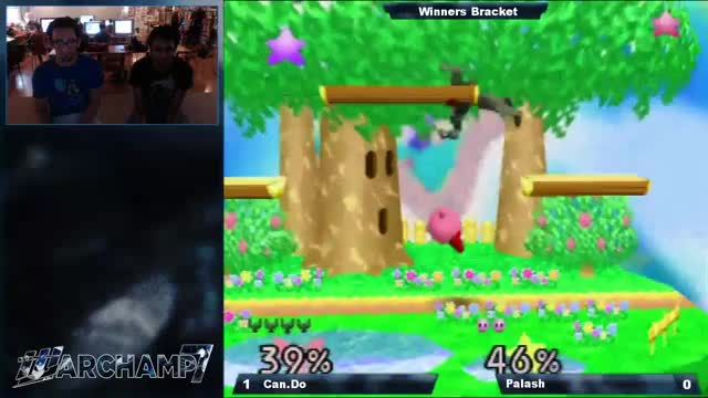 A SMASH 64 read with synced player reactions.