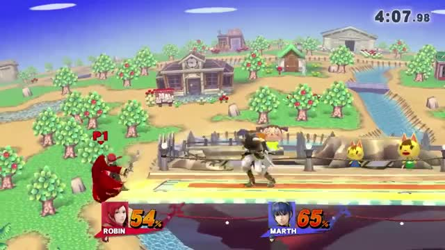 A gif of Nairo teching a stage spike and using said tech to wall-jump and spike his opponent to close out the set