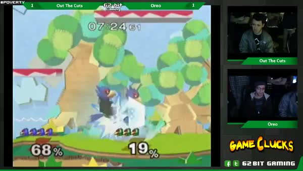[Falco] Out The Cuts gets a nice kill combo (X-post from /r/smashbros
