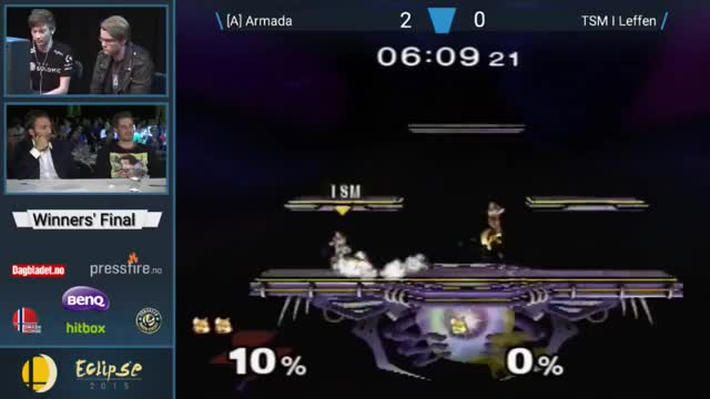 Armada's 0 to death on Leffen at Eclipse WF