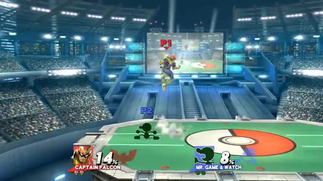 The Best Falcon Kick Punish Ever.