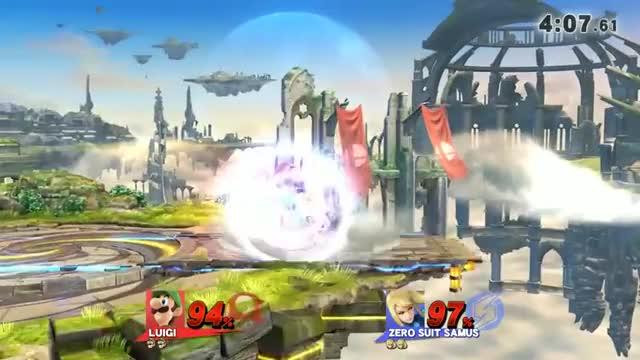 Luigi edge guarding