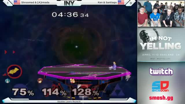 Ken showing Armada why he used to be king.