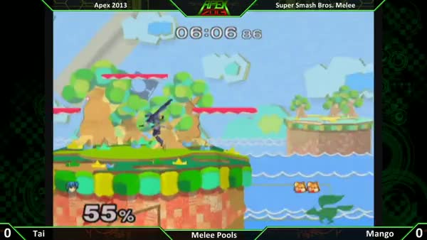 [Fox] Mang0 punishes a counter.