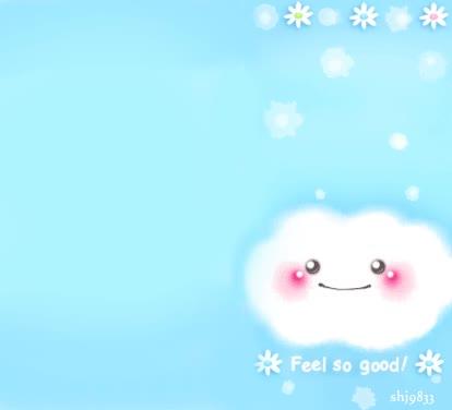 云朵gif动画图片素材