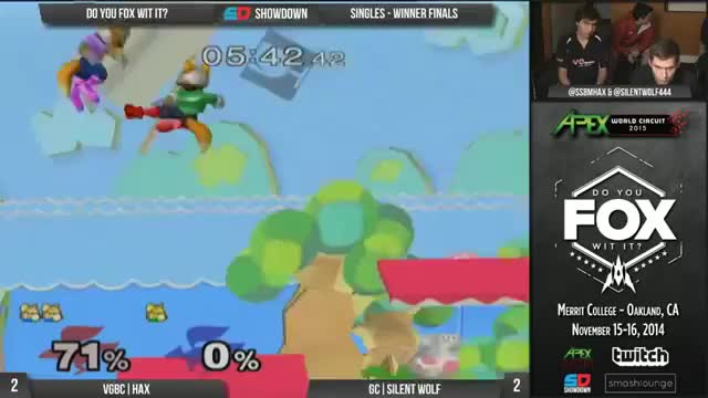 Hax going full 20XX at Do You Fox With It