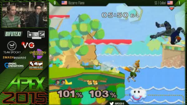 Bizzaro Flame's RIDICULOUS Off Stage Play Against Cobol at APEX 2015