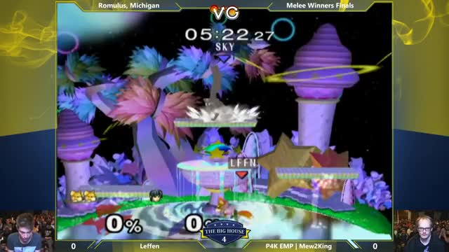Mew2King with a beautiful 0 to death on Leffen wrapping it up with a fadeback Ken combo -TBH4 – Leffen (Fox) Vs. P4K EMP | Mew2King (Marth) SSBM Winners Finals