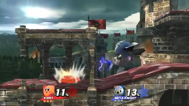 Sucks to be Meta Knight…
