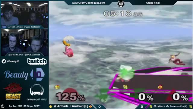 Android/Armada with the saucy save to kill at beauty 10.