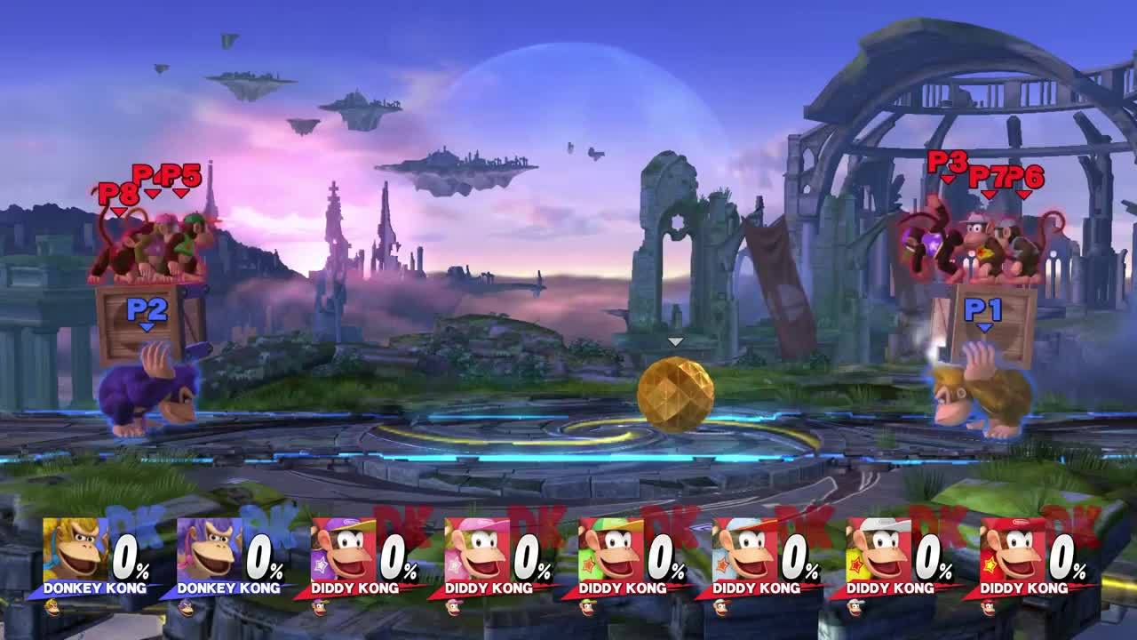 Hilarious Mini Game for Smash 4