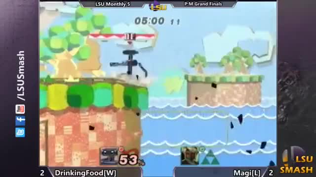 DrinkingFood's sick, tourney-winning combo at LSU Monthly 5