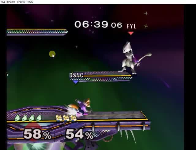 Trying to Edgeguard Mewtwo be Like . . .