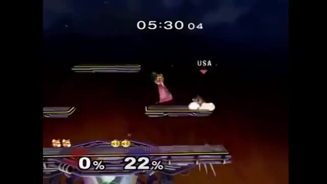 Armada with the sick combo against Mang0 (Genesis 2, Armada v Mang0)