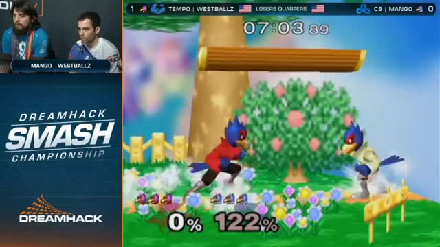 Mango gives Westballz a taste of Westballz pressure