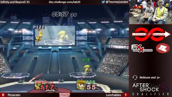 """Unintentional"" recovery from Lunchables (x-post /r/smashbros)"