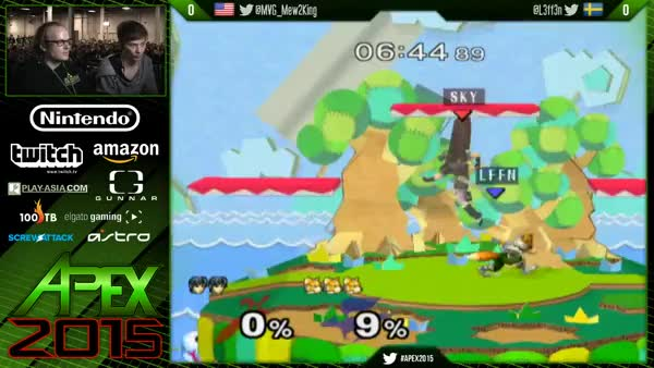 Mew2King's response to 20XX