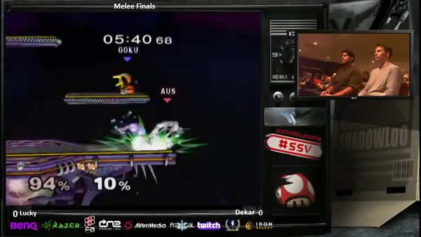 Lucky gets the reverse Marth Killer into Shinespike