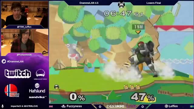 Leffen with an unusually stylish 0-death