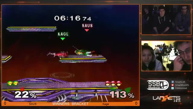 Saucy Side-B Sets Up Spin Attack Semi-Spike