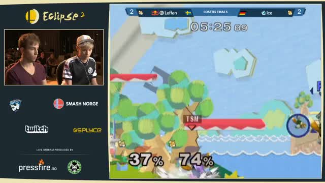 Ice recovers, bairs, and shinespikes Leffen to victory